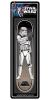 Santa Cruz Star Wars Stormtrooper Collectible - Black/White - 8.0in x 31.6in - Skateboard Deck