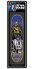 Santa Cruz Star Wars Droids Collectible - Blue/Grey - 8.375in x 32.0in - Skateboard Deck