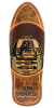 Santa Cruz Star Wars R2-D2 Inlay - Natural - 31.0in x 10.35in - Skateboard Deck