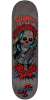 Santa Cruz Guzman Muerte Bae - Black - 8.2in x 31.69in - Skateboard Deck