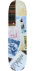 Krooked Mark Gonzales Collage  - Multi - 8.06in x 32in - Skateboard Deck