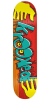 Krooked Hulk Hands - Red - 8.12in x 31.25in - Skateboard Deck