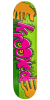 Krooked Hulk Hands Full Shape - Green - 8.25in x 32.0in - Skateboard Deck