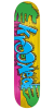 Krooked Hulk Hands - Yellow - 8.38in x 32.5in - Skateboard Deck
