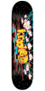 Krooked Off The Grid - Black - 8.12in x 31.25in - Skateboard Deck