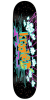 Krooked Off The Grid - Black - 8.25in x 32.0in - Skateboard Deck
