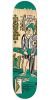 Krooked Anderson Hoodlum Full Shape - Green - 8.06in x 31.91in - Skateboard Deck