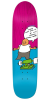 Krooked Ronnie How It Is - Pink/Blue - 8.5in x 32.25in - Skateboard Deck