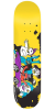 Krooked Drehobl Sideshow - Yellow - 8.18in x 32.0in - Skateboard Deck