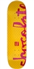 Chocolate Tershy Floater Chunk - Yellow - 8.25in x 32.0in - Skateboard Deck