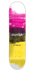 Chocolate Anderson Subtle Square - Pink/Black/Yellow - 8.125in x 31.625in - Skateboard Deck