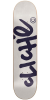 Cliche Handwritten Classic - Light Grey/Navy - 8.25 - Skateboard Deck