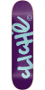 Cliche Handwritten Classic - Purple/Teal - 7.75 - Skateboard Deck
