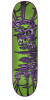 Creature Catacombs SM - Green/Purple - 7.5in x 31in - Skateboard Deck