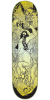 Creature Partanen Rumble Series Pro - Black/Yellow - 31.9in x 8.2in - Skateboard Deck