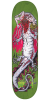 Creature Creek Freaks Team - Green - 8.25in x 32.04in - Skateboard Deck