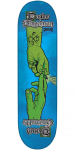 Creature The Sacred Pass Bingaman - Blue - 8.375in x 32.0in - Skateboard Deck