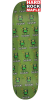 Creature Beezlebub MD Hard Rock Maple - Green - 8.25in x 32.04in - Skateboard Deck