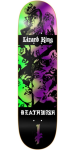 Deathwish Lizard King Colors of Death - 8.3875in - Multi - Skateboard Deck