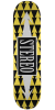 Stereo Arrow Pattern - Yellow - 8.0in - Skateboard Deck