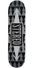 Stereo Arrow Pattern - Grey - 8.25in - Skateboard Deck