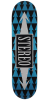 Stereo Arrow Pattern - Blue - 8.375in - Skateboard Deck