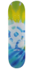 Stereo Tie-Dye - Blue/Green - 8.25in - Skateboard Deck
