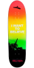 Powell Peralta Funshape Believe 2 - Multi - 8.6in x 31.84in - Skateboard Deck