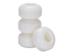 Rock On - White - 53mm 99a - Skateboard Wheels (Set of 4)
