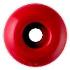 Rock On - Red - 53mm 99a - Skateboard Wheels (Set of 4)