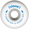 Alien Workshop Conical Clone - White - 52mm - Skateboard Wheels (Set of 4)
