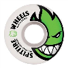 Spitfire Wheels Bighead - White - 53mm - Skateboard Wheels (Set of 4)