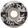 Spitfire Shredded - White - 53mm 99a - Skateboard Wheels (Set of 4)