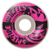 Spitfire Shredded - White/Pink - 52mm 99a - Skateboard Wheels (Set of 4)