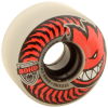 Spitfire 80HD Charger Classic - Clear/Red - 58mm 80a - Skateboard Wheels (Set of 4)