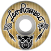 Pig Leo Romero Amps - White - 52mm 101a - Skateboard Wheels (Set of 4)