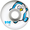 Pig Penguin - White - 52mm - Skateboard Wheels (Set of 4)