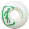 Girl Sketchy OG - White - 51mm - Skateboard Wheels (Set of 4)