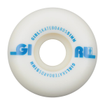 Girl Track - White - 51mm - Skateboard Wheels (Set of 4)