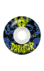 Darkstar Zodiak - Blue/White - 52mm - Skateboard Wheels (Set of 4)