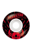 Darkstar Axis - Red/White - 52mm - Skateboard Wheels (Set of 4)