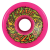 Santa Cruz SlimeBall - Neon Pink - 66mm 78a - Skateboard Wheels (Set of 4)