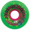 Santa Cruz Slime Balls Maggots - Green - 60mm 78a - Skateboard Wheels (Set of 4)