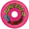 Santa Cruz Slime Balls Vomits - Neon Pink - 60mm 97a - Skateboard Wheels (Set of 4)