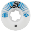 Ricta SLIX - White - 51mm 81b - Skateboard Wheels (Set of 4)