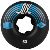 Ricta SLIX - Black - 53mm 81b - Skateboard Wheels (Set of 4)