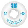 Ricta Naturals - White - 52mm 101a - Skateboard Wheels (Set of 4)