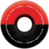 Ricta Cloud Duotones - Black/Red - 53mm 86a - Skateboard Wheels (Set of 4)