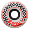 Krooked Zip Zinger 80HD - White - 56mm 80a - Skateboard Wheels (Set of 4)