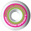 Chocolate Fastlane - White - 53mm - Skateboard Wheels (Set of 4)